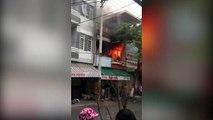 Đà Nẵng: Cảm động nam thanh niên liều mình lao vào đám cháy cứu 2 cụ già chạy thoát thân