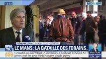 """""""Je ne réponds pas aux ultimatums."""" Le maire PS du Mans Stéphane Le Foll réagit aux menaces de blocage des forains"""