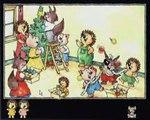 Publicité Drôle de Noël pour Mini-Loup 1996