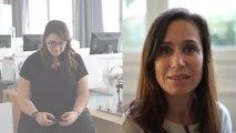 Avec l'association Chemins d'avenir, Laurence a aidé Angèle à trouver sa voie