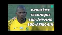 CAN 2019: lors des qualifications, l'hymne sud-africain interrompu... par un SMS