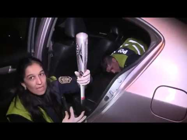 El video del operativo de la detención de la banda de la ametralladora
