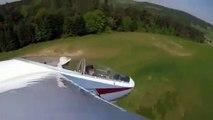 Un planeur se crashe après avoir percuté un arbre !
