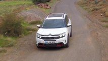 Citroen C5 Aircross SUV in Pearl white Driving Video