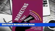 Full version  Marketing That Works: How Entrepreneurial Marketing Can Add Sustainable Value to