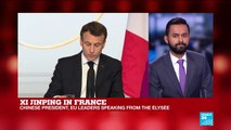 Xi Jinping in France: Watch the full press conference with Xi, Macron, Merkel and Juncker