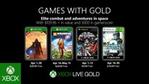 Games with Gold - Avril 2019