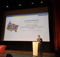 Conférence Territoires Connectés 2019 - Intervention de Franck Leroy, Vice-Président de la région Grand Est