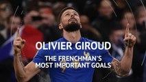 Olivier Giroud's top five France goals