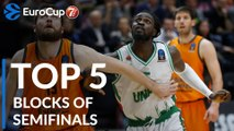 7DAYS EuroCup, Top 5 Blocks of the Semifinals!
