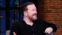 Ricky Gervais Carries Earplugs with Him Because Everything Annoys Him