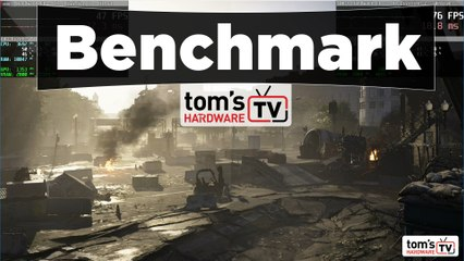 The Division 2 - séquence de benchmark - RX580 - Full HD (Ultra vs High vs Medium vs Low)