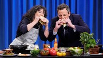 Carla Lalli Music Whips Up a BLT with a Bacon Fat Fried Egg