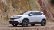 Citroen C5 Aircross SUV Design in Pearl white
