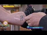 ¡Sajid reta a Gustavo Adolfo Infante a hacerse otro tatuaje! | Sale el Sol