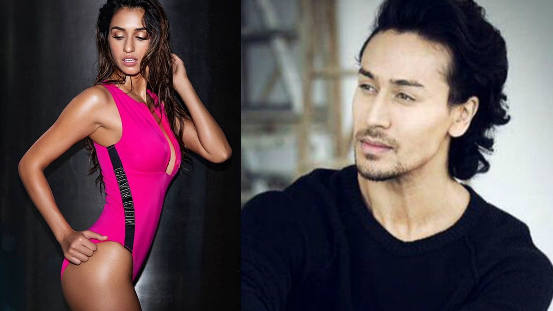Tiger Shroff PRAISES Disha Patani's Pink Swim Suit Picture; Check Out | FilmiBeat