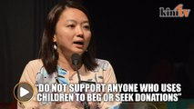 Hannah Yeoh: Don't use children to beg or seek donations