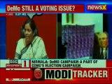Defence Minister Nirmala Sitharaman Briefs Media, Hits Back Rahul Gandhi's Demonetisation Attack