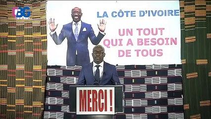 Premier intervention de Blé Goudé depuis sa sortie de prison :  « De vengeance en vengeance cela ne fera que précipiter notre pays dans le KO »