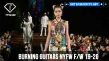 Burning Guitars NYFW F/W 19-20 Art Hearts Fashion  | FashionTV | FTV