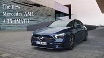 Mercedes-AMG A 35 4MATIC Sedan - Trailer