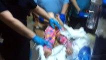 İnanılmaz kurtuluş: 3. kattan düşen 3 yaşındaki çocuk ağır yaralandı