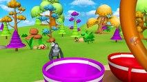 Childrens Parc d'Attractions pour Drôles de Grange et les Animaux de Zoo - Animaux de la Forêt pour les Enfants | Peony Noakes
