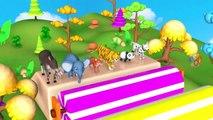 Les animaux Jouent avec des Roquettes pour Visiter le Système Solaire - Apprendre Planète du Système Solaire pour les Enfants | Peony Noakes