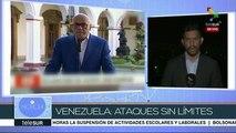 Venezolanos exigen el cese al asedio de EEUU sobre su país