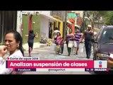 Analizan suspensión de clases en CDMX por corte de agua | Noticias con Yuriria Sierra