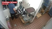 Man Caught On CCTV Cleaning Out Register At McDonald's Drive-Thru In Arizona