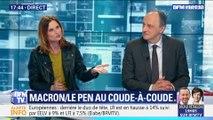 Européennes: Emmanuel Macron et Marine Le Pen au coude-à-coude (1/2)