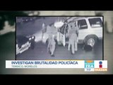 Policías agarran a golpes a hombre y a su perro | Noticias con Zea