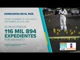Homicidios en México ¿Cuánto aumentaron los homicidios en 6 años? | Noticias con Zea