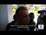 Llegó a la frontera con México una tercera Caravana Migrante | Noticias con Ciro