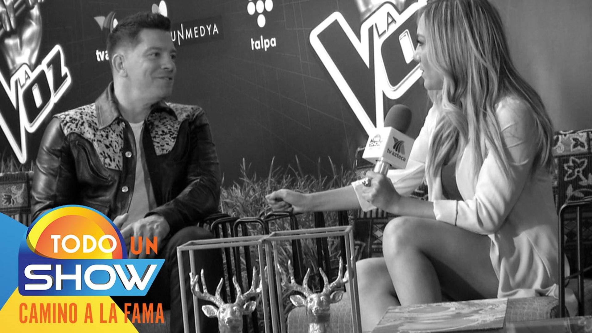 ¡Exclusiva! Erika González entrevistó a Yahir y le contó cómo ha vivido la experiencia de ser coach
