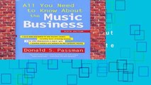 Full version  All You Need to Know about the Music Business: Ninth Edition Complete