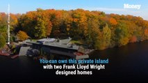 This Island Features Two Frank Lloyd Wright Homes