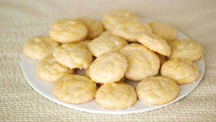 Glazed Lemon Cookies Video