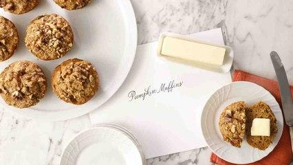 Jumbo Pumpkin Muffins