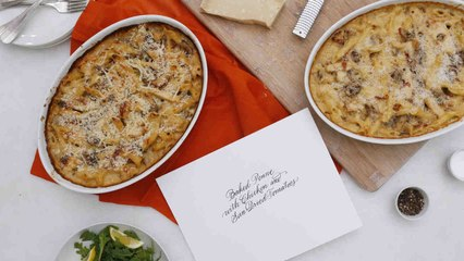 Baked Penne with Sun-Dried Tomatoes and Chicken