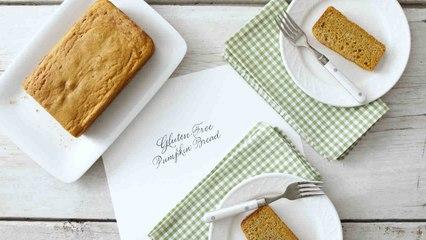 Nicely Spiced Gluten-Free Pumpkin Bread
