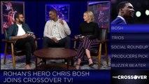 Chris Bosh Talks Trash Talk And Fan Interaction