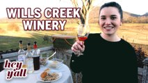 Hey Y'all Wills Creek Winery