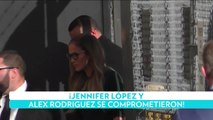 ¡Jennifer López y Alex Rodriguez se comprometieron!