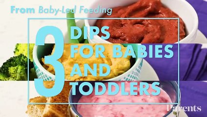 3 Dips for Babies & Toddlers