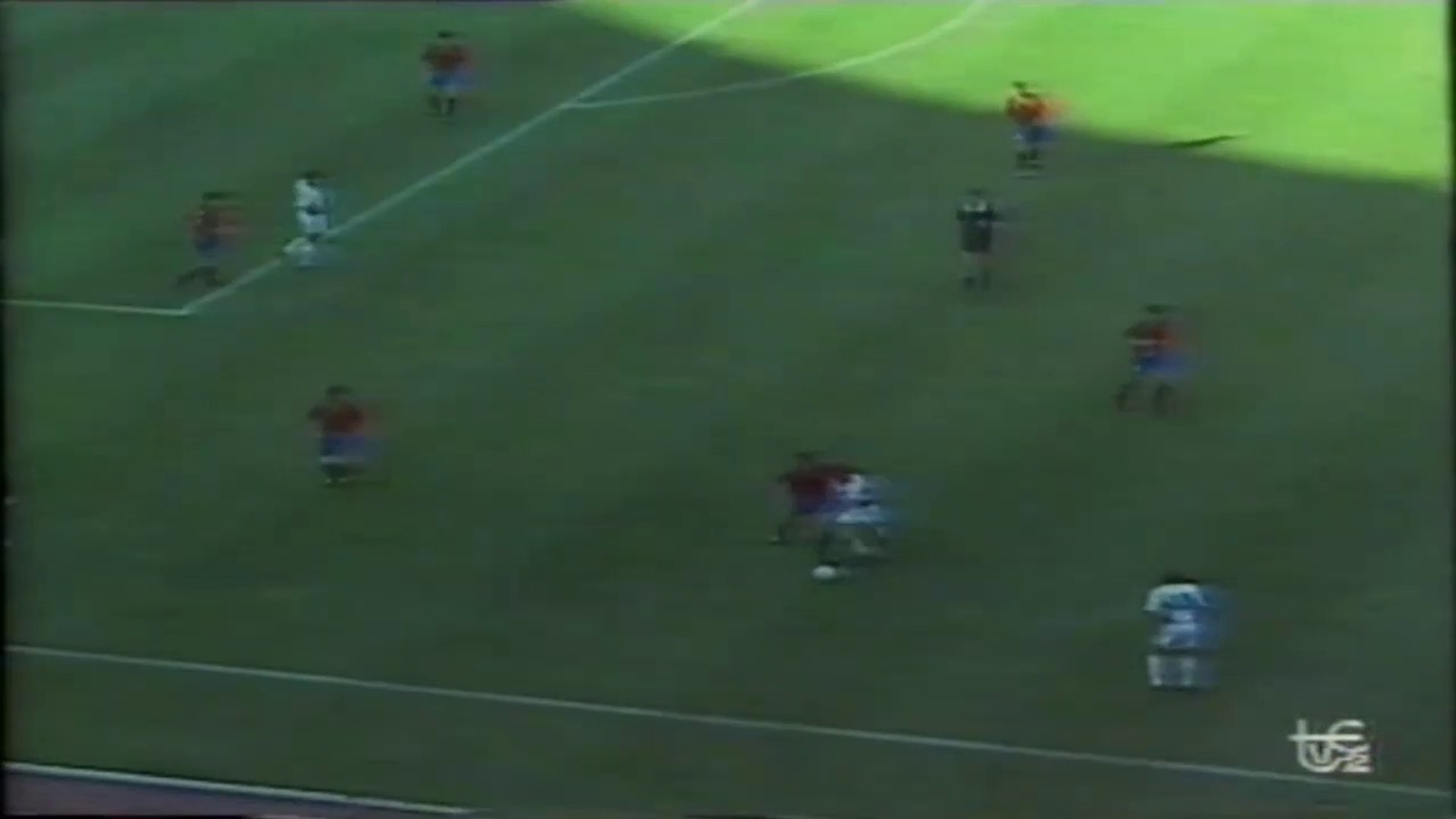 Spain 1:2 Yugoslavia ● World Cup 1990 ● Second half