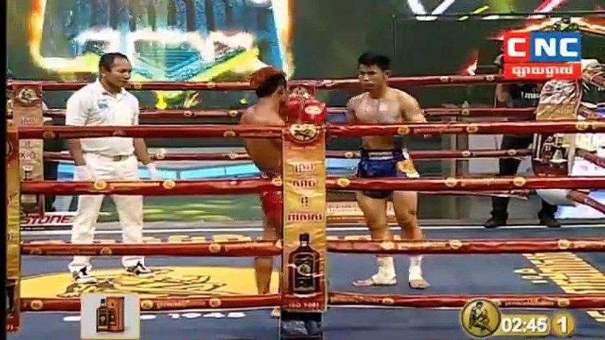 អេលីត សាន់ Vs ចុងអាងសឹក, Ehlit Sun, Cambodia Vs Thai, Jongangsuek, Khmer Boxing 24 March 2019, International Boxing, Kun Khmer Boxing | Godialy.com