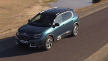 Citroen C5 Aircross SUV in Tijuca blue Driving Video