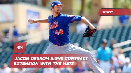 Jacob Degrom Signs 137 Million Dollar Deal With The Mets